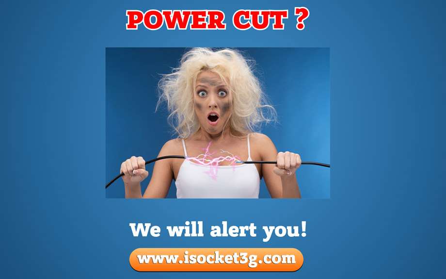 Power cut? We will alert you!